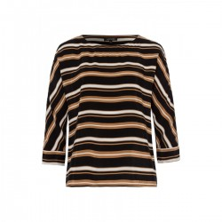 Striped Blouse by More & More