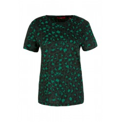 Jersey T-shirt with an all-over print by s.Oliver Red Label