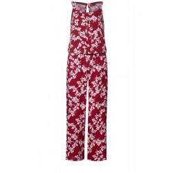 Jumpsuit with flower print by Street One