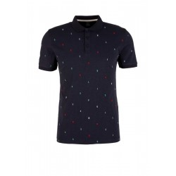 Slim: Polo shirt with embroidery by s.Oliver Red Label