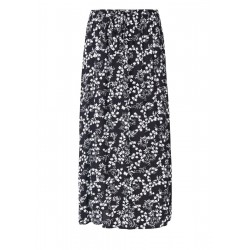 Crêpe skirt with a floral print by s.Oliver Red Label