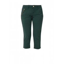Shape Capri: 7/8-length twill trousers by s.Oliver Red Label
