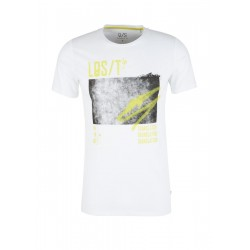 T-shirt with a front print by Q/S designed by