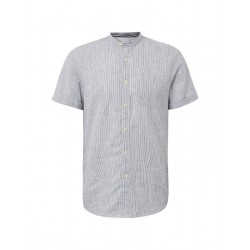 Shirt with stand-up collar by Tom Tailor Denim