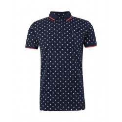 Patterned polo shirt by Tom Tailor Denim