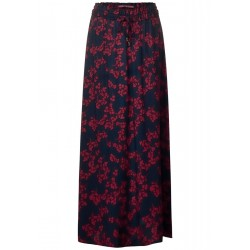 Maxi skirt with floral print by Street One