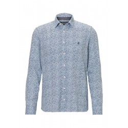 Long-sleeved shirt shaped in fine-grained twill quality by Marc O'Polo