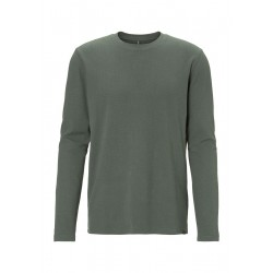 Long sleeve shirt with waffle structure by Marc O'Polo