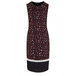 Patterned crêpe dress by s.Oliver Black Label