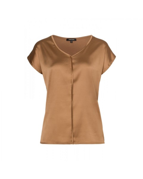Satin Front Shirt by More & More