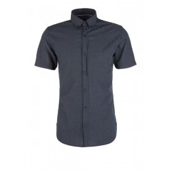 Slim: shirt with a minimal pattern by s.Oliver Red Label