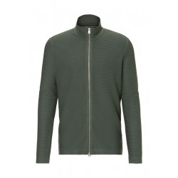 Knitted jacket made of pure organic cotton by Marc O'Polo