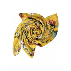 Scarf with floral print by Cecil