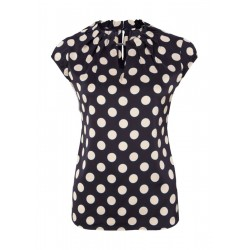 Short sleeve blouse by Comma