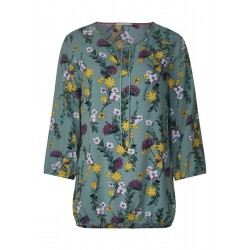 Tunic blouse with floral print by Cecil