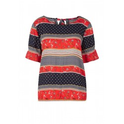 Blusenshirt mit Musterprint by s.Oliver Red Label
