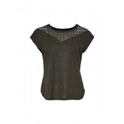 Lace shirt Sila by Opus