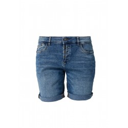 Smart Short: Jeans mit Knopfleiste by s.Oliver Red Label