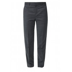 Regular: suit trousers in blended new wool by s.Oliver Black Label