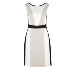 Sheath dress with colour blocking by s.Oliver Black Label