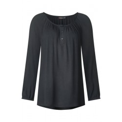 Soft blouse with button placket by Street One