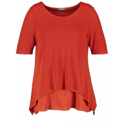 Flared double-layer top by Samoon