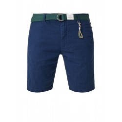 Plek Chino Loose: Leinen-Bermuda by s.Oliver Red Label