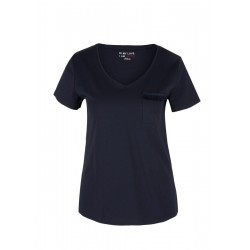 Basic top with a fringed effect by s.Oliver Red Label