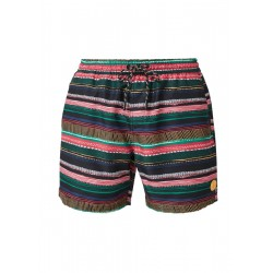 Swim shorts with a printed pattern by s.Oliver Red Label