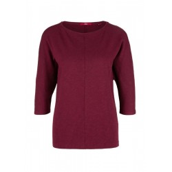 Knit top with 3/4-length sleeves by s.Oliver Red Label