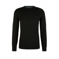Cotton jumper with a crew neck by s.Oliver Red Label