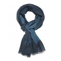 Scarf with tonal pattern print by Marc O'Polo