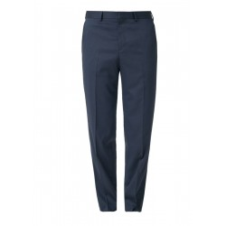 Regular: Suit trousers with a textured pattern by s.Oliver Black Label