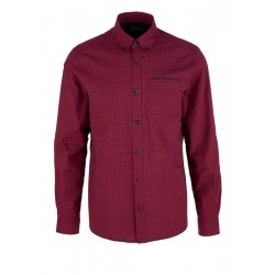 Regular: Long sleeve check shirt by s.Oliver Red Label
