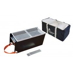 Table-top grill (40,50x18x17cm) by Cookut