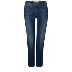 Tight Fit Denim Charlize by Cecil