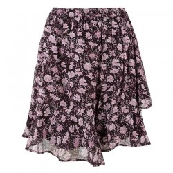 Skirt with flounce by Esqualo