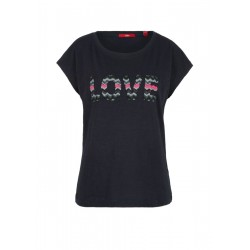 Slub top with embroidery by s.Oliver Red Label