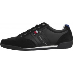 Contrast texture suede trainers by Tommy Hilfiger