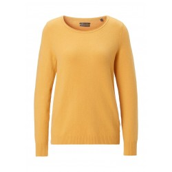 Knitted pullover made from cotton wool stretch fabric by Marc O'Polo