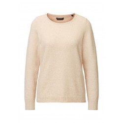 Jumper in stretch cotton and wool blend by Marc O'Polo