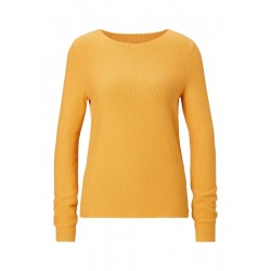 Knitted pullover with rice grain structure by Marc O'Polo