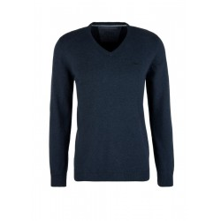Jumper with a V-neckline by s.Oliver Red Label