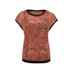 Patterned top by Comma