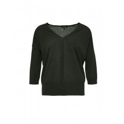 Jumper with V-neck Pezzalotta by Opus