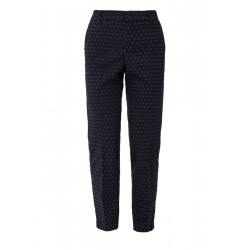 Shape Ankle: patterned chinos by s.Oliver Red Label
