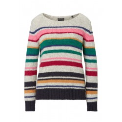 Knitted jumper made from exclusive yarn fabric by Marc O'Polo