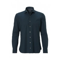 Long-sleeve shirt in a stretch cotton poplin by Marc O'Polo