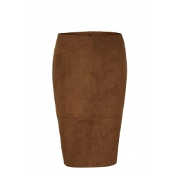 Pencil skirt in faux leather by s.Oliver Black Label