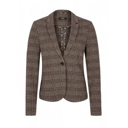 Prince of Wales check blazer with tape by s.Oliver Black Label